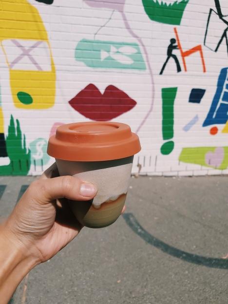 My cupで飲むコーヒーはまた特別感があっておすすめ